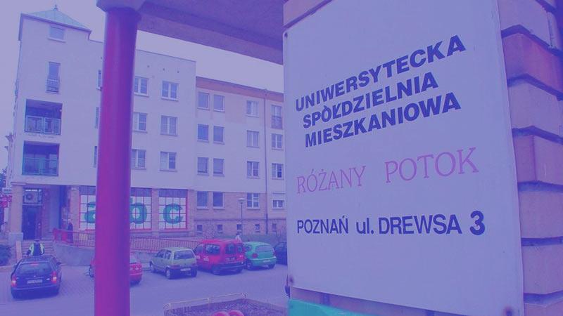 """Uniwersytecka Spółdzielnia Mieszkaniowa """"Różany Potok"""""""